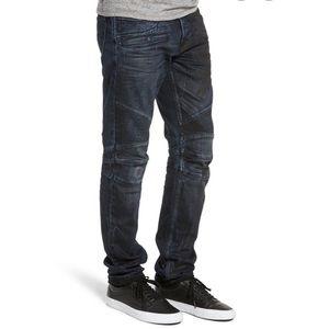 🇬🇧Hudson The Blinder Biker Distressed Jeans  32